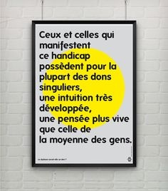 Posters Dyslexie on Behance