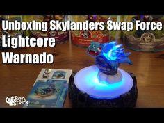 Unboxing Skylanders Swap Force Lightcore Warnado