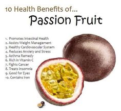 10 Health Benefits Of Passion Fruit!