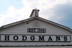 Hodgman's Frozen Custard stand in New Gloucester, Maine