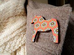 Dala Horse pin