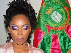 Make up da Primeira Porta Bandeira da Mangueira - Carnaval Rio 2014