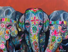 Elephants by Kristy Gammill
