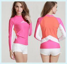 Women's Beach Volleyball Yop Solid diving swimsuit jacket scuba Swimwear Beach Rash Guard Snorkeling surfing suit kneepad diaper