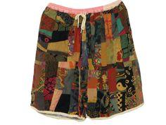 patchwork shorts!