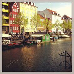 Christians Havns Kanal by Christianshavns Torv