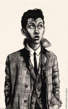 Alex Turner sketch @Kass Lee-Kondo @daphne olivera