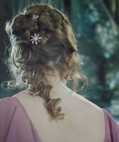 hermine grangers hair style for the ball | Hermione's hair at the Yule ball