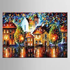 Resultado de imagem para pintura em telas a oleo paisagem