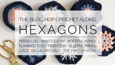 Crochet along hexagons