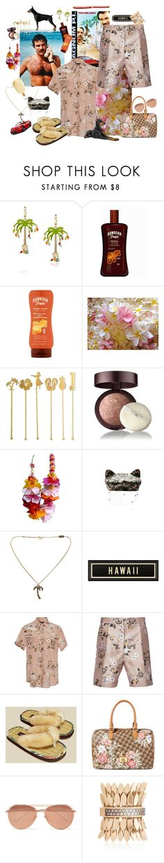 """Fun Set- Miss Magnum 😊😁"" by juliabachmann ❤ liked on Polyvore featuring Rosantica, OneSelf, Laura Geller, John Galliano, Maison Michel, Yves Saint Laurent, Rochas, Lauren Ralph Lauren, Linda Farrow and FerrariFirenze"