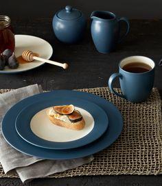 Colorwave Blue: http://noritakechina.com/colorwave-blue.html #dinnerware #home #noritake #colorwave
