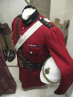 Scarlet Tunic of Grenadier Guards, used in Sudan, possibly in Mahdist War.