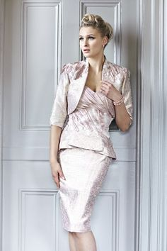 An elegant Mother of the Bride outfit by Bel Air from Ian Stuart London.