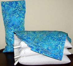 Lavender Aromatherapy or Unscented Eye Pillow in by BeachDawn