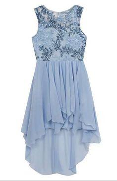 320dc74584 Tween Something Blue Dress Now in Stock - Tween Girls 7-16 Blue Dresses For