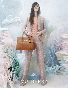 Mulberry's Spring Summer 2013 Campaign. Back to the sea we go!