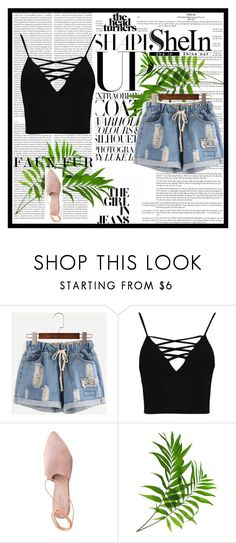 """""""shorts"""" by muamera03 ❤ liked on Polyvore featuring Boohoo, Summit and Oris"""