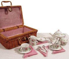 Deluxe Porcelain Mini Tea Set