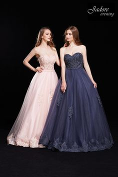 Lace Bodice Ball Gown Lace Illusion Bodice with Tulle Ball Gown Skirt accented by lace appliqués. Lace Bodice, Fitted Bodice, Tulle Ball Gown, Ball Gowns, Prom Dresses, Formal Dresses, Lace Applique, Gown Skirt, Illusion