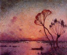 Ferdinand du Puigaudeau - Sunset in Briere