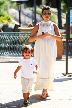 Kourtney Kardashian and Son Mason Park Playdate with Friends In Calabasas