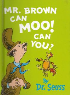 Mr Brown Can Moo! Can You? by Dr. Seuss - Mini Size Edition - Hardcover - S/Hand