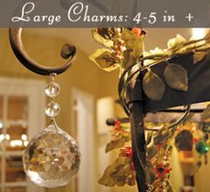 Large Charms, 4-5 inches +