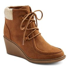 db504df74c2 Expect More. Pay Less. Brown Wedge BootsWedge ...