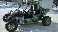 Dune Buggy Wrap - Decals were printed and wrapped in the Alexandria, MN SignMax #dunebuggy #decals