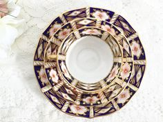 Royal Crown Derby Imari Trio