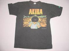 VINTAGE single  NEO TOKYO VINTAGE ORIGINAL 1994 AKIRA KANEDA BLACK T SHIRT MED