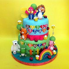 #Pororo Themed Stacked Cake #kualalumpur #cakeshop #cakestore #johor #selangor #penang #3dcakes #kidcake #putrajaya #designed #themedcake