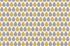 Holli Yellow Hippos fabric by newmom on Spoonflower - custom fabric