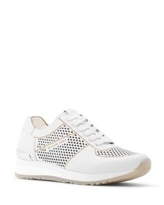 MICHAEL MICHAEL KORS Tilda Lace Up Sneakers. #michaelmichaelkors #shoes # sneakers