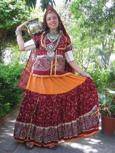 I had a gypsy skirt similar to this one.