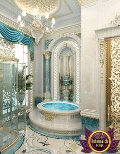 Villa interior design in dubai saudi arabia madina for Bathroom interior design dubai