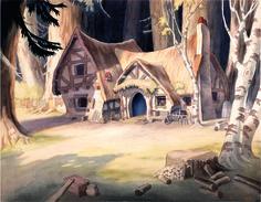 The Seven Dwarf's Cottage