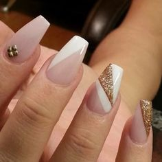 Image result for easy grey and black nail art