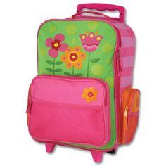 Stephen Joseph Girls 2-6X Rolling Luggage