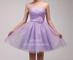 Love this one! short prom dress purple bridesmaid dress chiffon by okbridal, $84.00