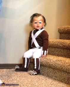 Oompa Loompa - Halloween Costume Contest via @costumeworks