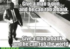 Give a Man the World... ????... Profit?