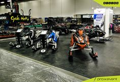 For all large or small exhibit display needs, pro-x event is your complete turnkey solution, like our Polaris Industries booth for Toronto Snowmobile ATV & Powersports Show 2016. #custom #exhibit #displays #Toronto www.proxevent.ca
