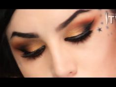 The Monarch Eyeshadow Makeup Tutorial by Kat Von D   Sephora - YouTube