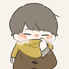 Cute Anime Chibi, Cute Anime Pics, Cute Love Pictures, Cute Images, Cute Kawaii Drawings, Kawaii Art, Art Anime, Anime Art Girl, Anime Drawing Styles