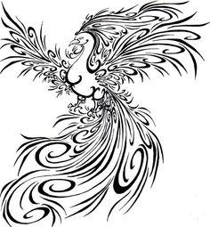 Phoenix+Bird+Drawings | the phoenix phoenix tattoos