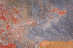 """""""Map of Antiquity"""" abstract photograph by Nat Coalson. Abstract photograph displays vibrant colours and rich textures. The organic graphics are balanced by a rectangular bar with ochre hues and myriad fine lines forming geometric patterns. The overall appearance speaks to the Old World, resembling an ancient map. Reproductions are available in any size and on any material, including mixed media Originals on canvas, hand-embellished with acrylic. For details and pricing, visit…"""