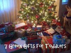 7 Green Gifts for Toddlers
