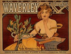 Waverly bicycles ~ Alphonse Mucha